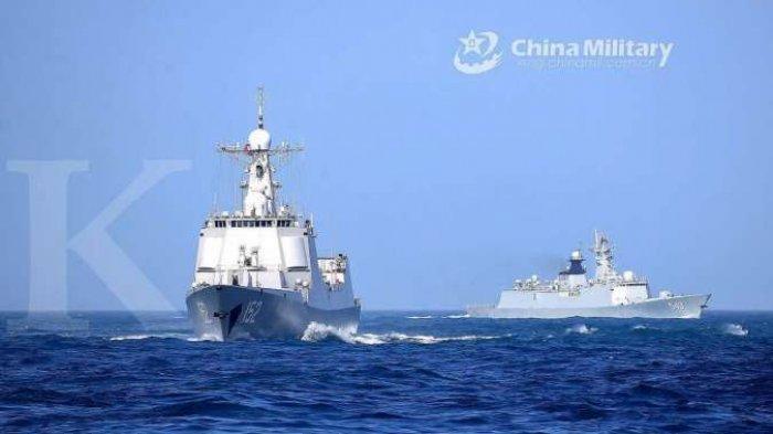 GAWAT! China Hari Ini Usir Kapal Perang AS di Laut China Selatan dan Respon Amerika Serikat