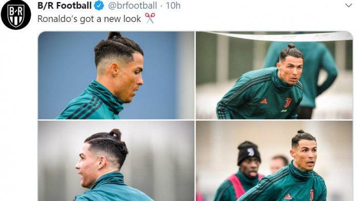 Cristiano Ronaldo Pakai Gaya Rambut Baru Sambut Tahun 2020 ...