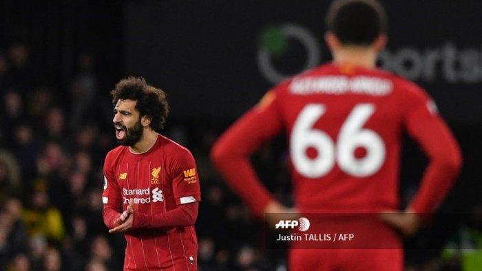 UPDATE Hasil Liverpool vs Fulham - Sambar Bola dari Mo Salah, Lemina Taklukkan Alisson, Skor 0-1
