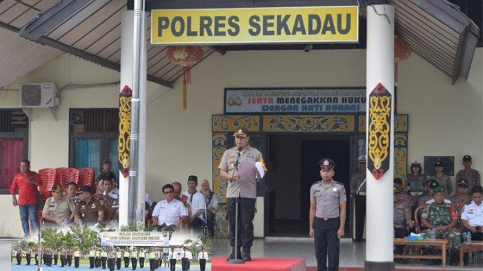 Polres Sekadau Resmi Gelar Ops Zebra Kapuas, Kasat Lantas: Pajak Mati Bayar di Tempat