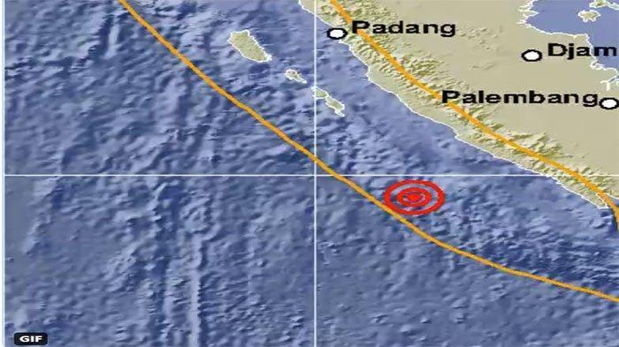 GEMPA Bengkulu Hari Ini Berkekuatan 6.5 Magnitudo, Info BMKG Umumkan Ada Tidaknya Potensi Tsunami