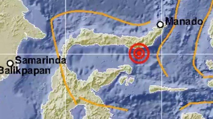 GEMPA Bumi Berkekuatan M 6,3 GuncangBolaang Uki Sulawesi Utara Sore Ini