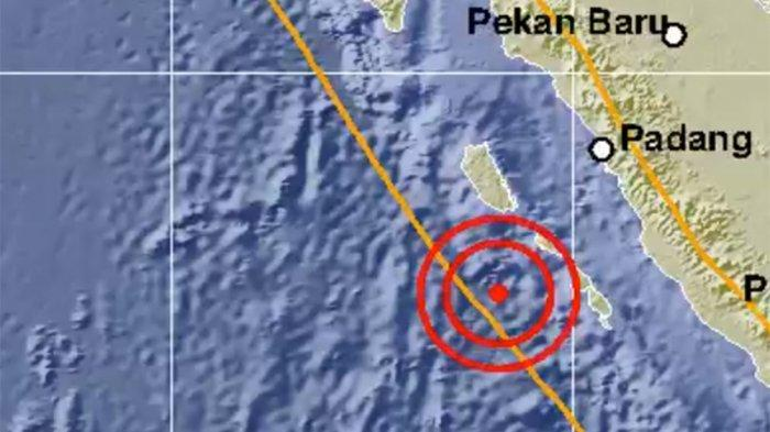 GEMPA Bumi Magnitudo 6,3 Guncang Sumatera Barat Pagi Ini, BMKG Sebut Tak Berpotensi Tsunami