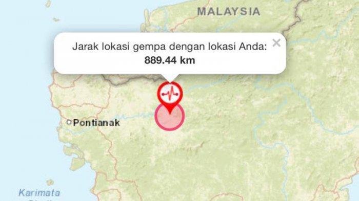 Kalbar Sudah Enam Kali Diguncang Gempa, Dua Kali di Hari Rabu