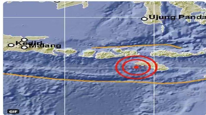 GEMPA Hari Ini 2020 Terbaru, Gempa Bumi Terkini Beruntun di Sumba Barat Daya NTT, Terasa Hingga Bima