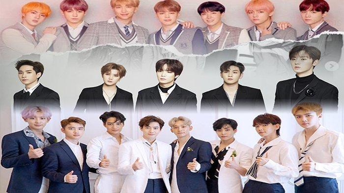 Genap Setahun BTS di Puncak! Inilah Deretan 30 Boyband K-Pop dengan Reputasi Brand Terbaik Mei 2019