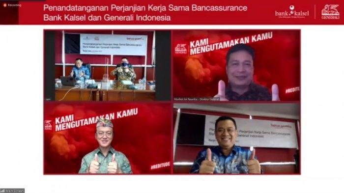 Hasil Kolaborasi Bank Kalsel & Generali Indonesia, Rilis Produk Asurasi Jiwa Banua Proteksi
