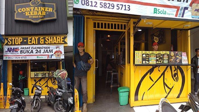 Gerai Container Kebab by Baba Rafi Cabang Pontianak, Disini Alamatnya