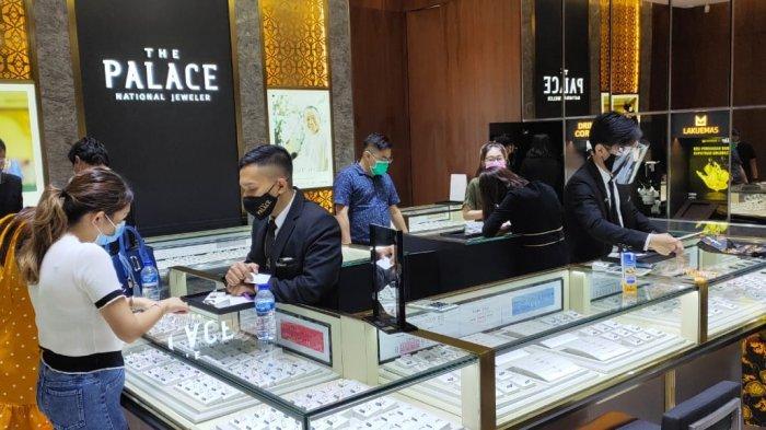 Gerai ke-24 The Palace Jeweler Hadir di Gaia Bumi Raya City Mall