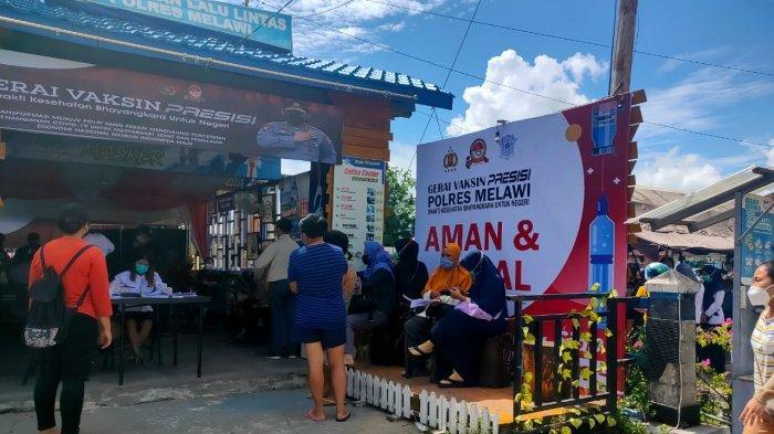 Ikuti Instruksi Kapolri, Polres Melawi Bentuk 10 Gerai Vaksinasi Presisi di Seluruh Wilayah Hukum