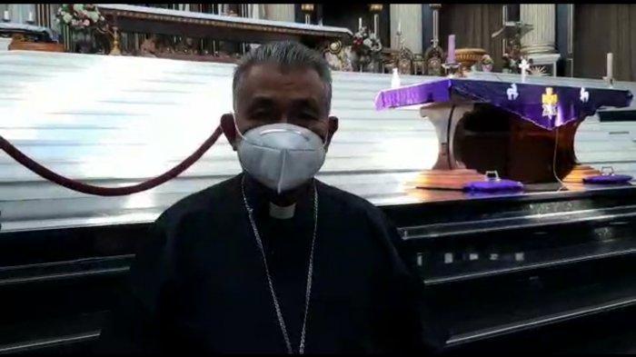 Uskup Agung Pontianak Pastikan Perayaan Natal di Gereja Katedral St. Yoseph Terapkan Prokes