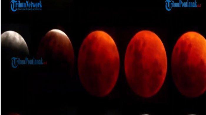 Bahayakah Lihat Blood Moon dengan Mata Telanjang? Apa yang Terjadi Jika Gerhana Bulan Total