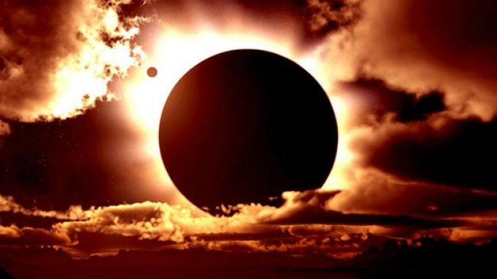 Gerhana Matahari Cincin Tertutup Mendung, CEK Siaran Langsung Gerhana Matahari Hari Ini 10 Juni 2021