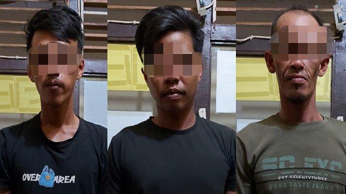 Ketahuan Mencuri Besi Milik PT Wika, Tiga Pria di Sungai Kunyit Diamankan Polres Mempawah