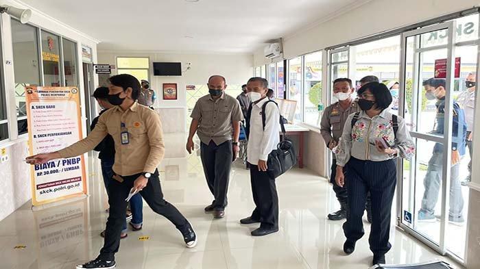 Tim Evaluator Mabes Polri Lakukan Giat Asistensi Unit Pelayanan Publik di Polres Mempawah