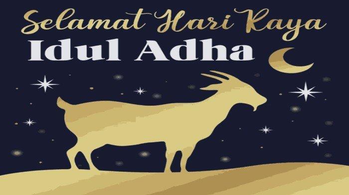 Download GIF Gambar Bergerak Idul Adha 2021 Lengkap Kata-kata Bijak Ucapan Selamat Idul Adha 1442 H