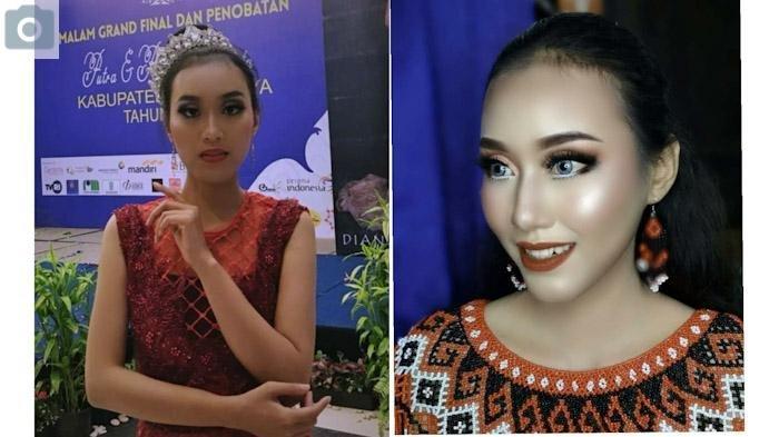 PROFIL Gintini Oktavia, Putri Pariwisata Nusantara Kalbar dan Dara Gawai Dayak 2019