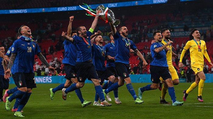 ITALIA JUARA EURO 2021 Gagalkan Kemenangan Inggris Raih Gelar Juara Piala Eropa Tadi Malam 12 Juli