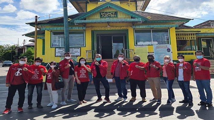 Plt Ketum PSI Giring Ganesha Berkunjung ke Kabupaten Sanggau