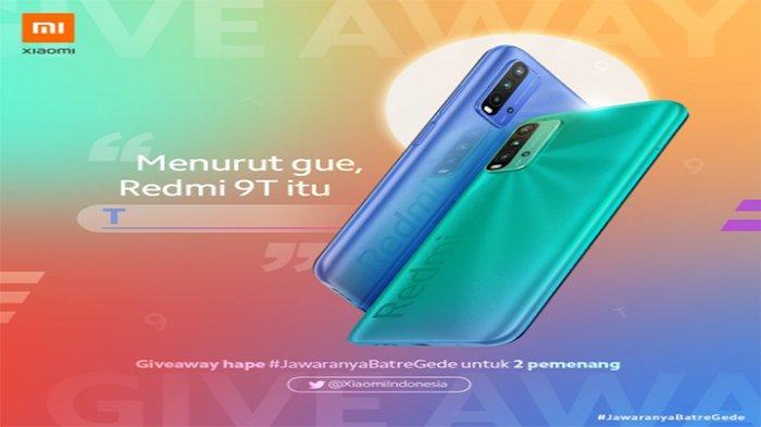 Giveaway Redmi 9T untuk 2 Pemenang 5 Langkah Ikut Program Akses Twitter Resmi Xiaomi Indonesia