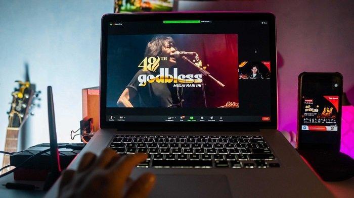 Konser Virtual Godbless Bisa Disaksikan via Aplikasi MAXstream pada 31 Agustus 2021