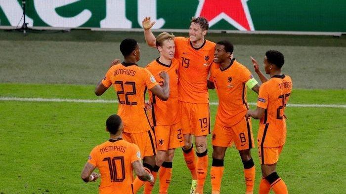 Gol - Hasil EURO 2021 Belanda Vs Austria, Klasemen Grup C Negara Lolos 16 Besar Piala Eropa 2021