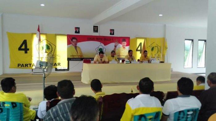 Golkar Sanggau Usulkan Dua Nama Wakil Ketua Sementara, Ini Orangnya