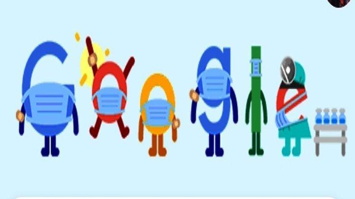 KABAR BAIK! Pasien Sembuh Covid Terus Meningkat, Gunakan Masker Selamatkan Nyawa Google Doodle 1 Mei