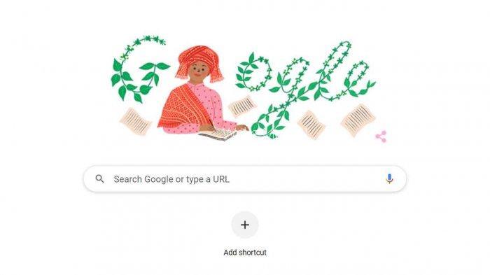 Siapa Sariamin Ismail yang Jadi Google Doodle Hari Ini Sabtu 31 Juli 2021?