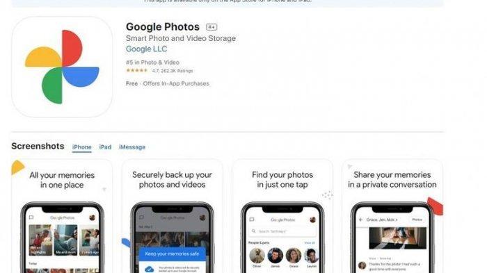 Pembatasan Penyimpanan Google Photos 15 GB Mulai 1 Juni 2021 , Bisa Beralih ke Google One Berbayar