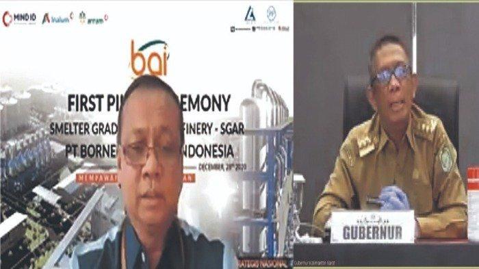 Gubernur Kalbar Resmikan Pembangunan Smelter PT Borneo Alumina Indonesia di Mempawah - gpiotaga.jpg