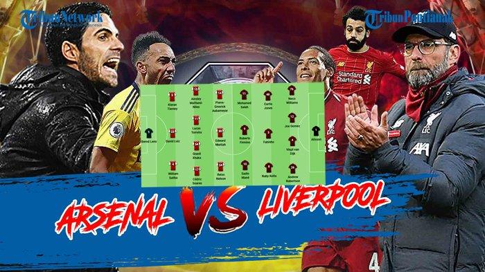 UPDATE HASIL Arsenal vs Liverpool - Tampil Dominan, The Reds Belum Mampu Buat Gol, Skor 0-0