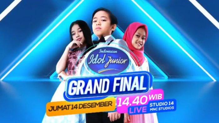 LIVE STREAMING Grand Final Indonesian Idol Junior RCTI, Ada Judika dan RAN! Siapa Juara
