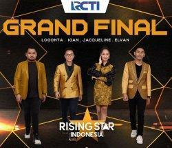 Streaming Rising Star Indonesia, Duel Logonta, Igan, Elvan & Jacqueline! Siapa Juara Grand Final?