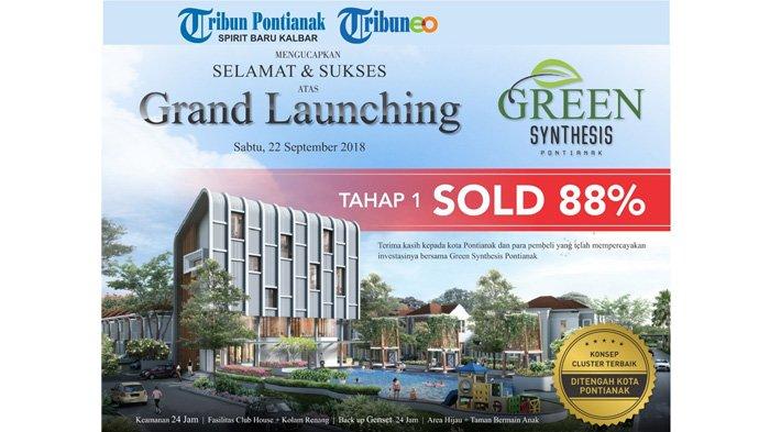 Tribun Pontianak Mengucapkan Selamat dan Sukses Atas Grand Launching Green Synthesis Pontianak