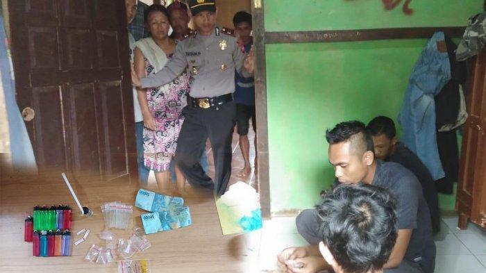 Polisi Gerebek Kediaman Pelajar SMK di Menjalin Karena Memiliki Narkoba, Ini Barang Buktinya