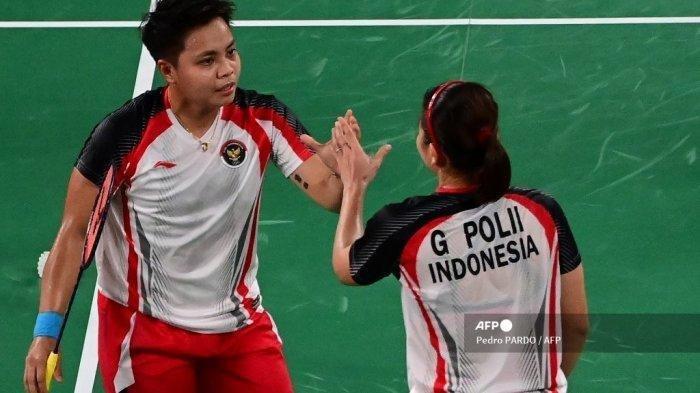 Line Up Pemain Indonesia vs Prancis di Uber Cup, Apriyani Rahayu Punya Pasangan Baru