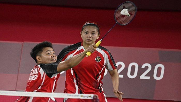 HASIL Badminton Olimpiade Tokyo 2021 Hari Ini Praveen/Melati Kesulitan, Marcus/ Kevin Menang Mudah ?