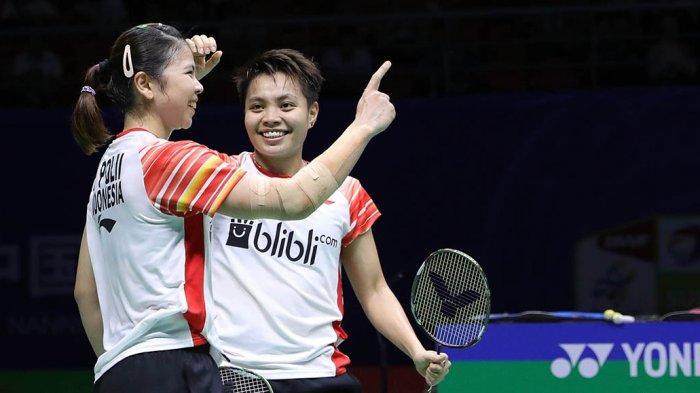 JADWAL Badminton Olimpiade Tokyo Saingan Berat Greysia Polli/Apriyani Rahayu Lawan Peringkat 1 Dunia