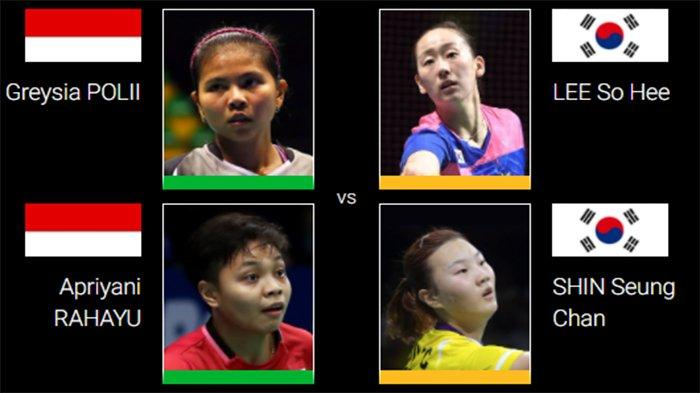 REVIEW Semifinal Thailand Open 2021 Greysia/Apriyani vs Lee/Shin - Rekor 4-1 Asa Juara Back to Back