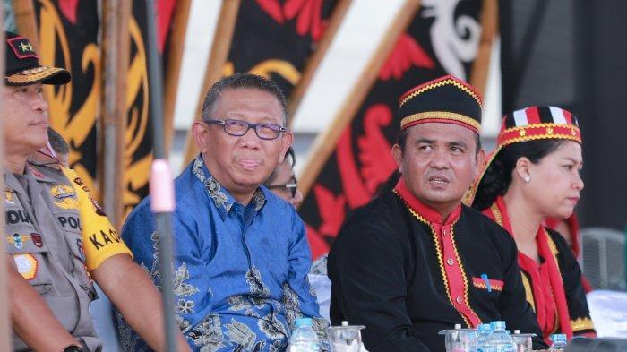 Festival Budaya Dayak ke-1 Kalbar, Gidot Sebut Bagian Tak Terpisahkan Dalam Rangka Bangun NKRI