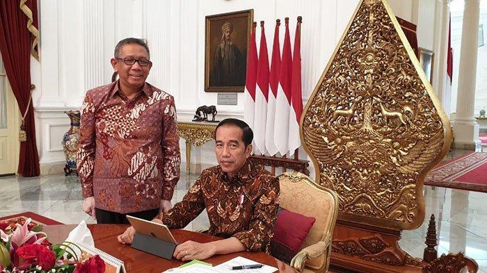 Satu Jam Pertemuan Presiden Jokowi & Gubernur Sutarmidji, Bahas Pembangunan Hingga Proyek Nasional