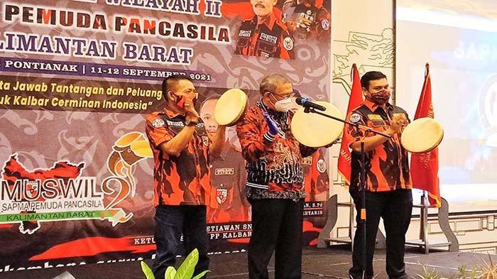 Hadiri MUSWIL II SAPMA PP Kalbar, Gubernur Sutarmidji : Gaungkan Pancasila dan Satukan Keberagaman