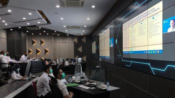 Gubernur Sutarmidji Rapat Virtual Bersama Kemendikbud dan Kemendagri, Ini yang Dibahas