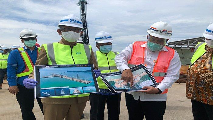 Gubernur Kalbar Sutarmidji Tinjau Progres Pembangunan Pelabuhan Kijing Mempawah
