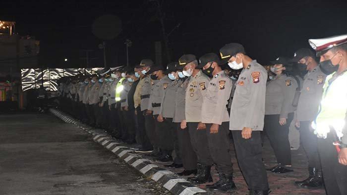 Antisipasi Gangguan Kamtibmas, Polres Sintang Rutin Gelar Patroli Skala Besar