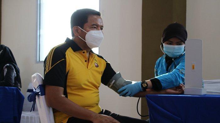 Peduli Kesehatan, Kapolda Kalbar Ikuti Rikkes Berkala