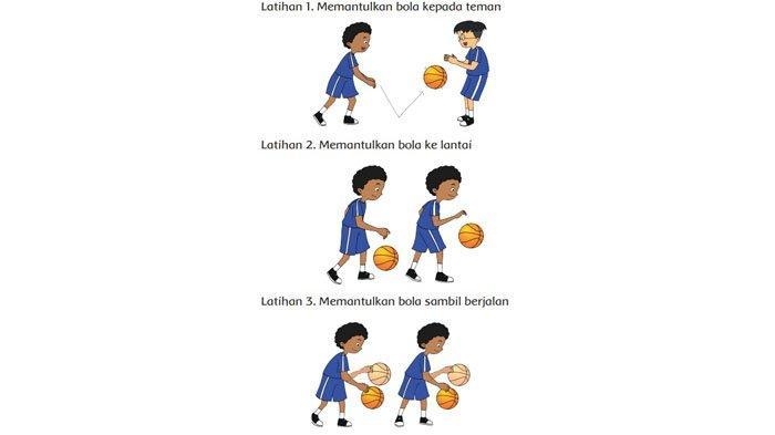 Gunakan bola tersebut untuk berlatih memantul dan menangkap bola.