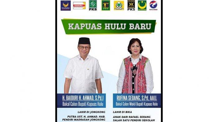 Hary Tanoesoedibjo Dukung Pasangan H Baiduri-Rufina Pilkada di Kapuas Hulu