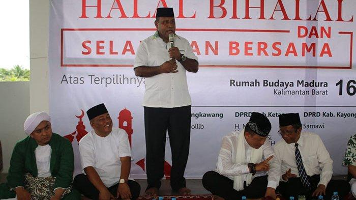 Hadiri Halalbihalal IKBM, Pangdam XII/Tpr Ajak Warga Madura Dukung TNI-Polri Jaga Kalbar